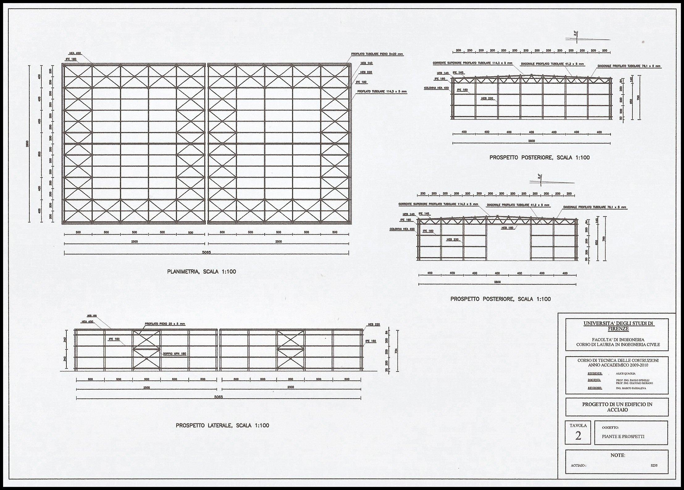 Progetto capannone industriale rf76 regardsdefemmes for Piani di casa capannone